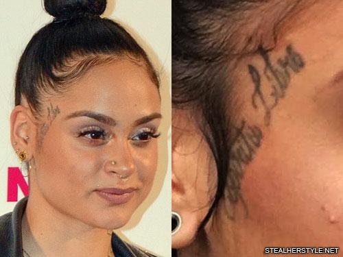 kehlani-espiritu-libre-face-tattoo