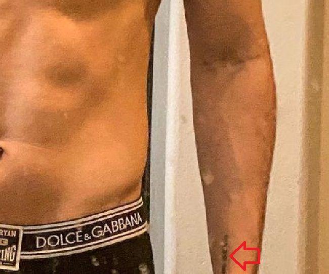 ryan garcia-wrist tattoo