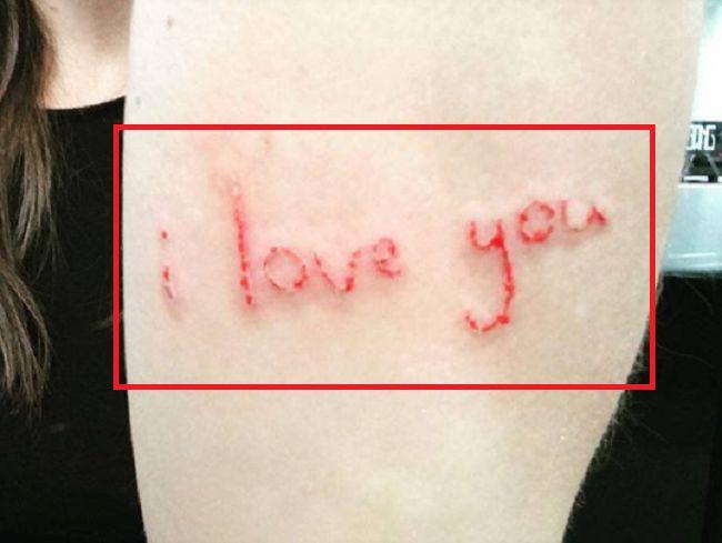 whitney cummings-i love you-tattoo
