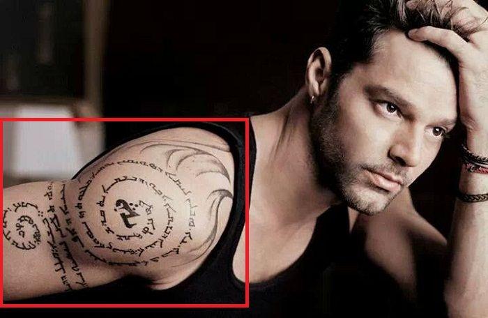 Aramaic Tattoo-Ricky Martin-Tattoo