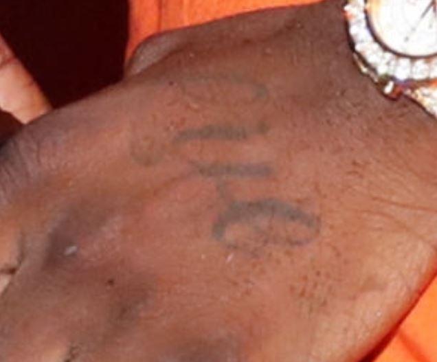 Chief left hand tattoo