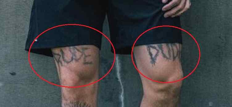 Chris Heria dude tattoo