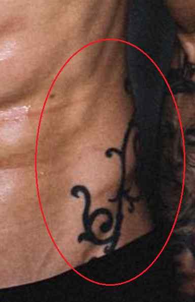 Chris Heria side tattoo