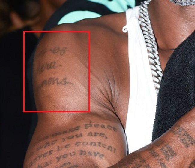 DMX-Tashera Simmons-Tattoo