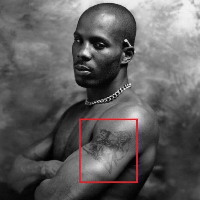 DMX-grim reaper with pitbull-tattoo