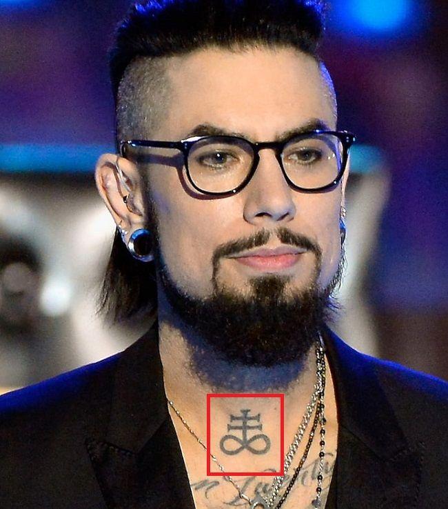 Dave Navarro-Throat-Tattoo