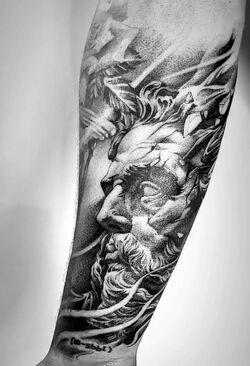 Ethan Payne Jesus Christ Tattoo