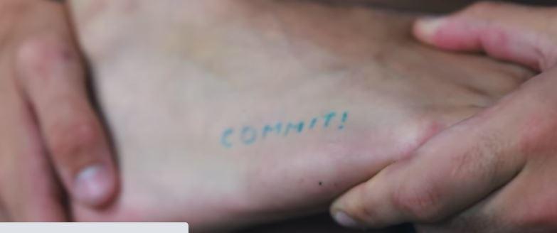 Grayson COMMIT Tattoo