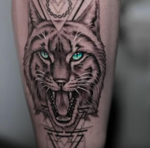Grayson LYNX Tattoo