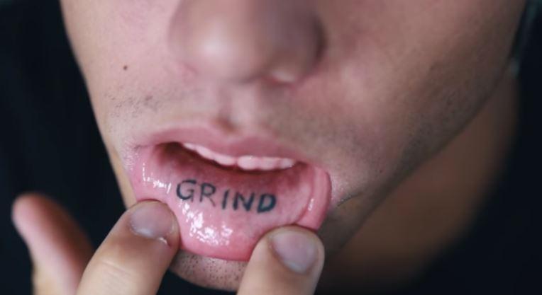 Grayson grind tattoo