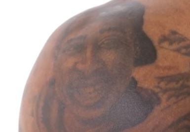 Jarvin Tupac tattoo