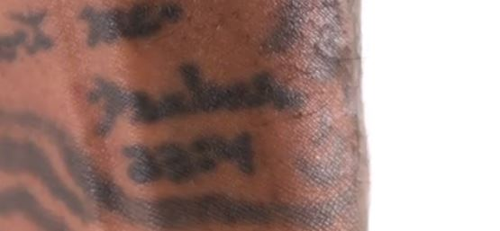Jarvis 23 4 tattoo