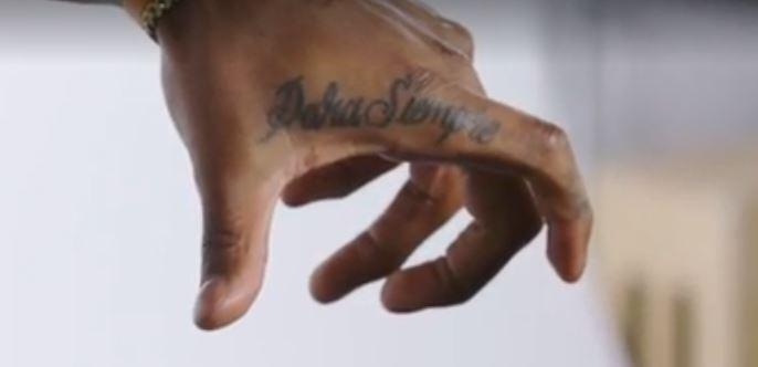 Jarvis hand tattoo
