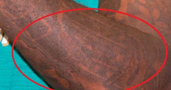 Jarvis left forearm tattoo