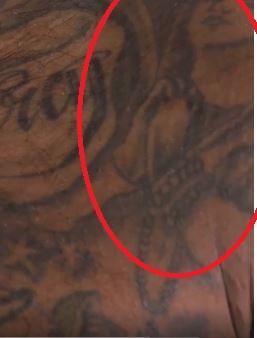 Jarvis praying angel tattoo