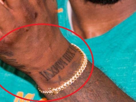Jarvis roman numerals tattoo