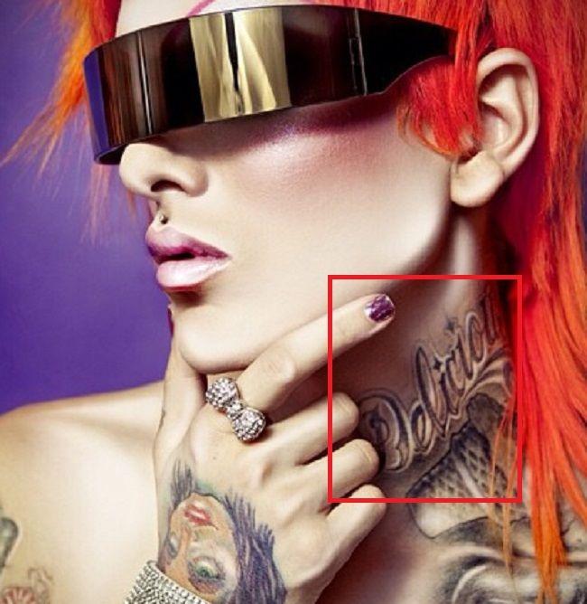 Jeffree Star-Delicious-Tattoo