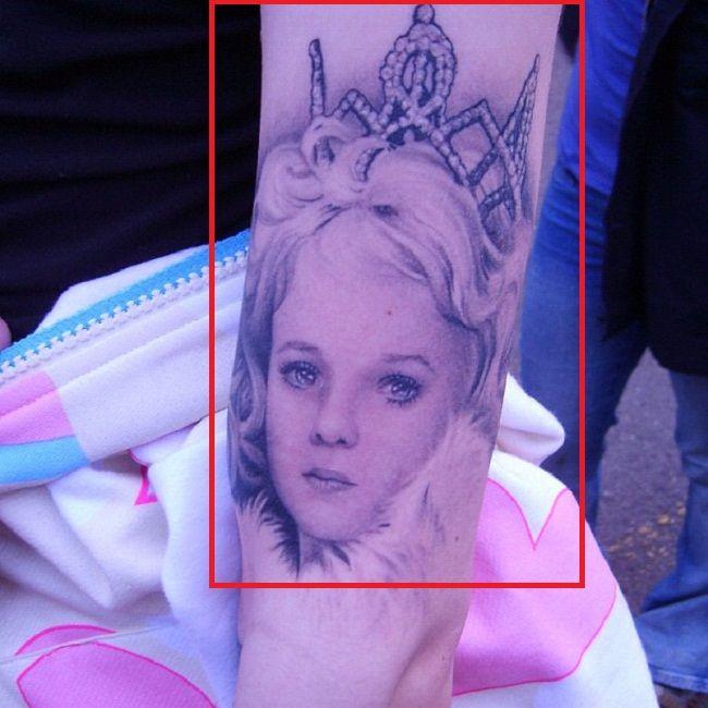 Jeffree Star-JonBenét Ramsey-Tattoo