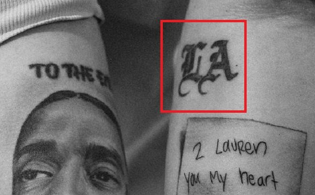 Lauren London-LA-Tattoo