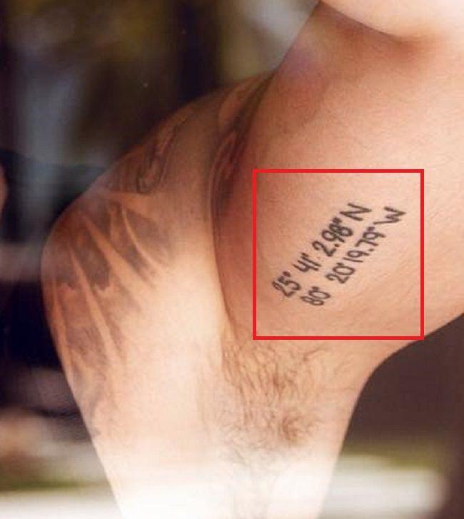 Luis Fonsi-Coordinates-Tattoo