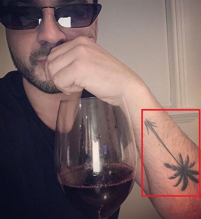 Palm Tree Tattoo-Luis Fonsi