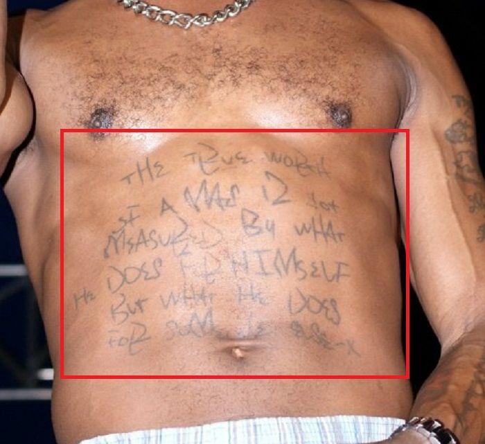 Quote Tattoo-DMX