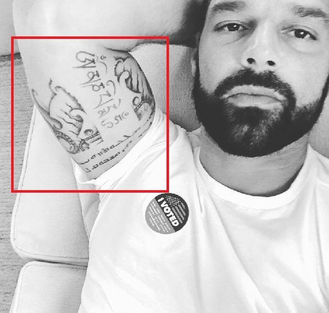 Ricky Martin-Tattoo
