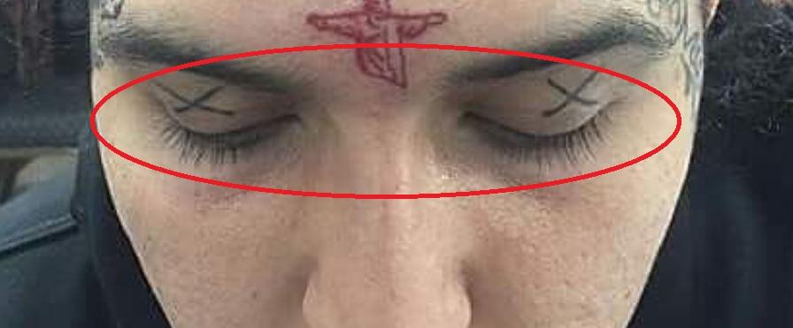 Sosmula eyelids tattoo