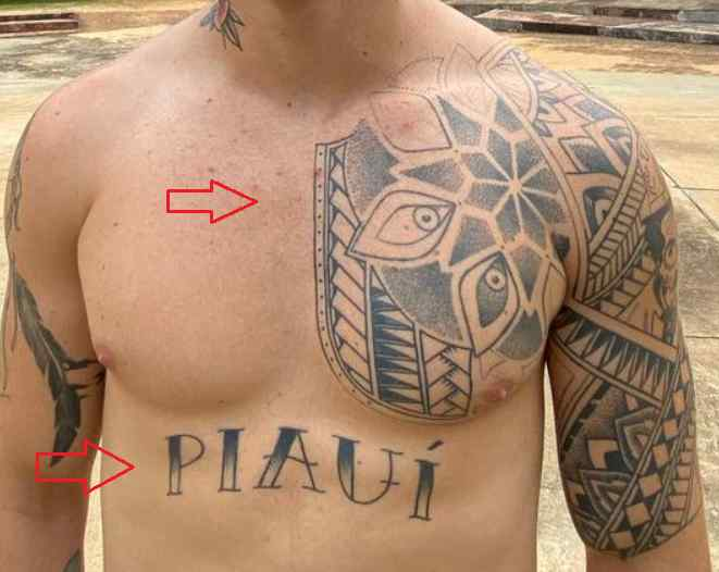 Whindersson Nunes piaui tattoo