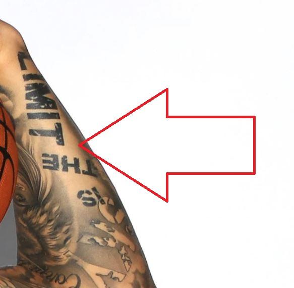 Willy writing tattoo