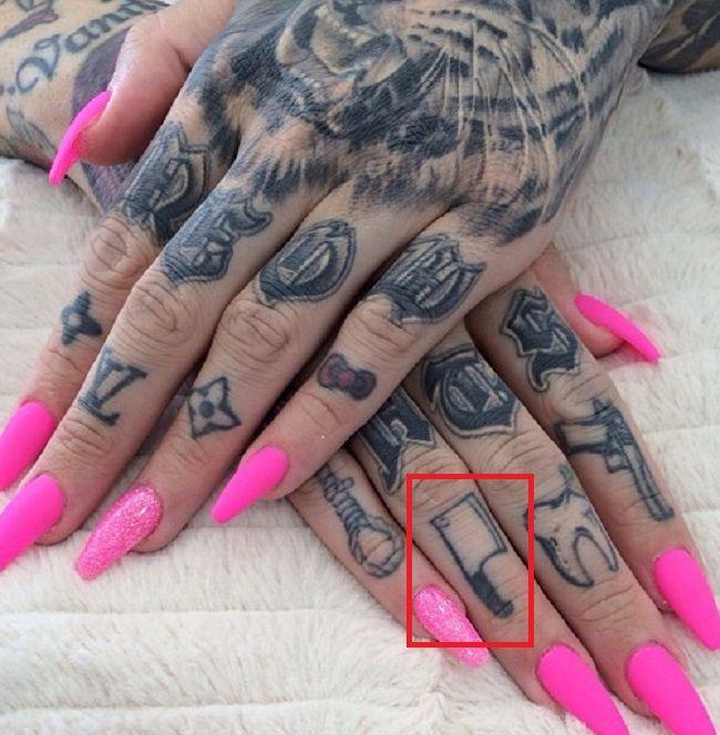 butcher knife tattoo jeffree star