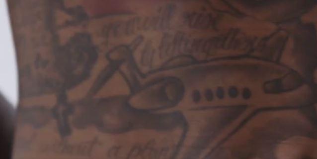 jarvis abdomen tattoo