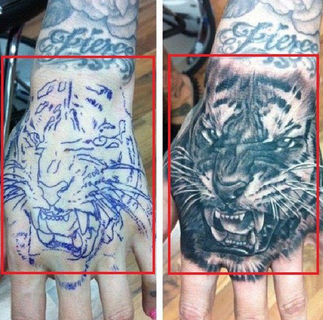 jeffree star-tiger-tattoo