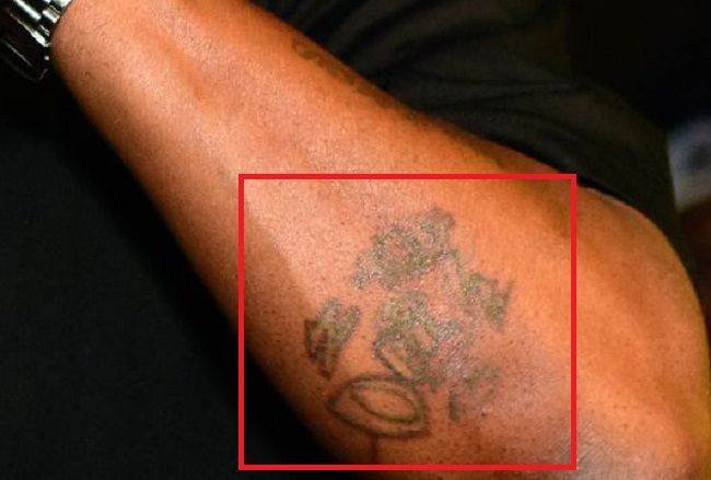 left forearm tattoo of dmx
