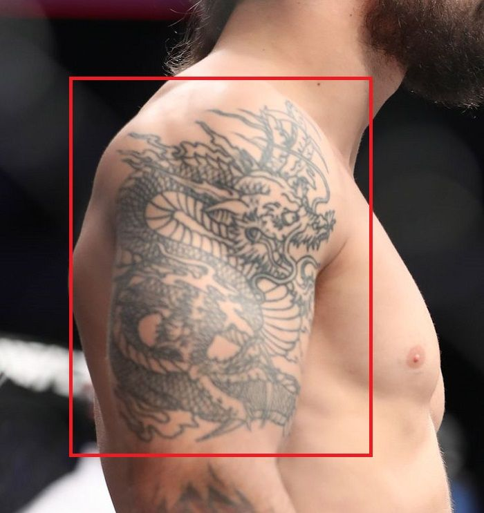 mike perry dragon tattoo