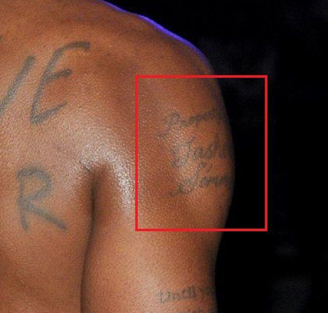 property of tashera simmons-tattoo-DMX