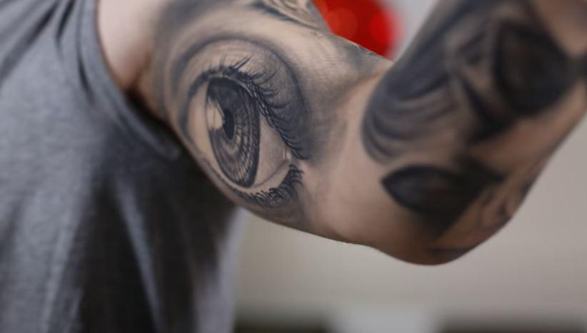 Adriel eye tattoo