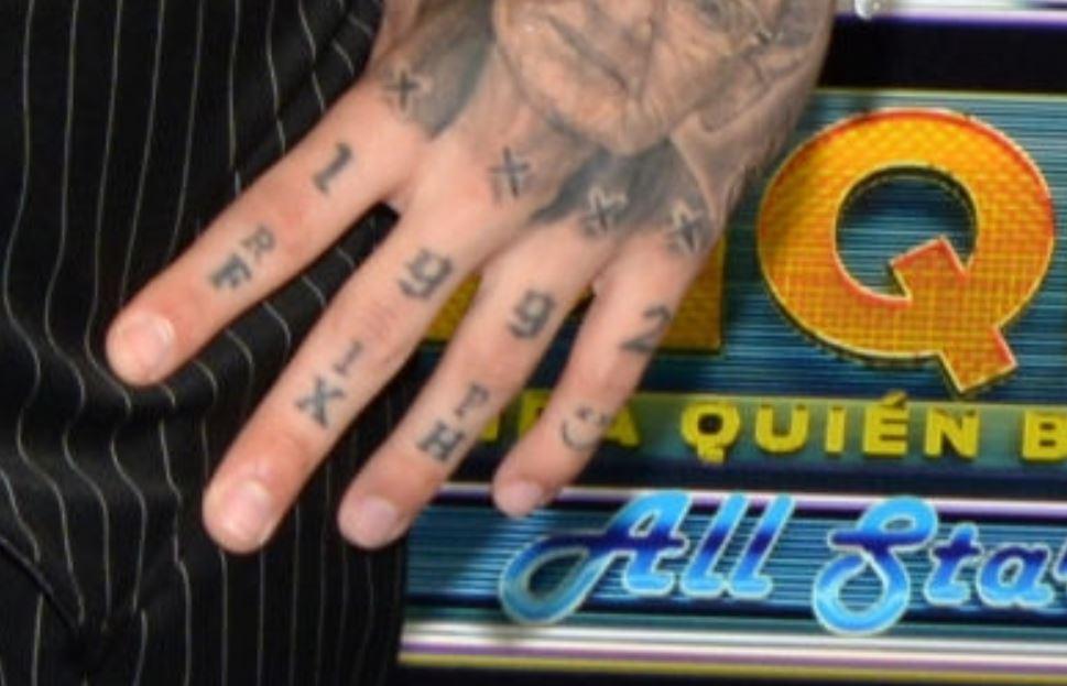 Adriel hand tattoos