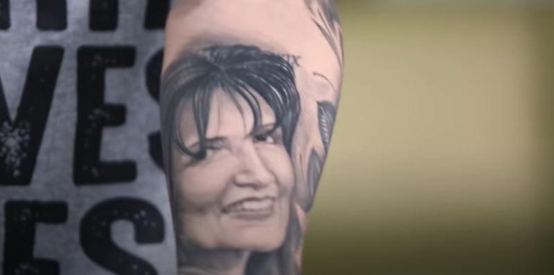Adriel portrait tattoo