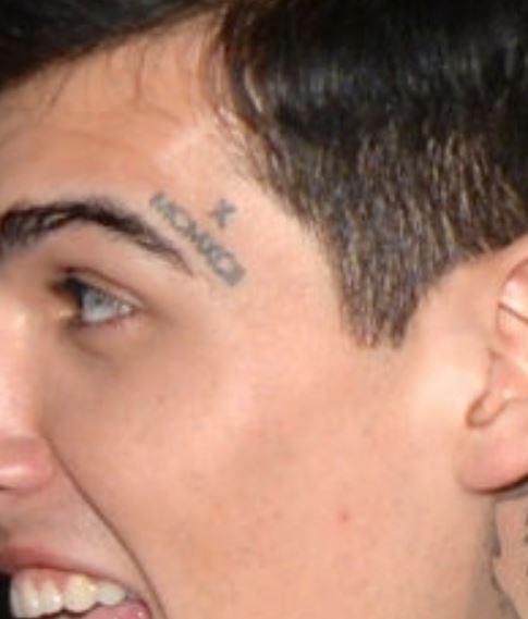 Adriel roman numerals tattoo