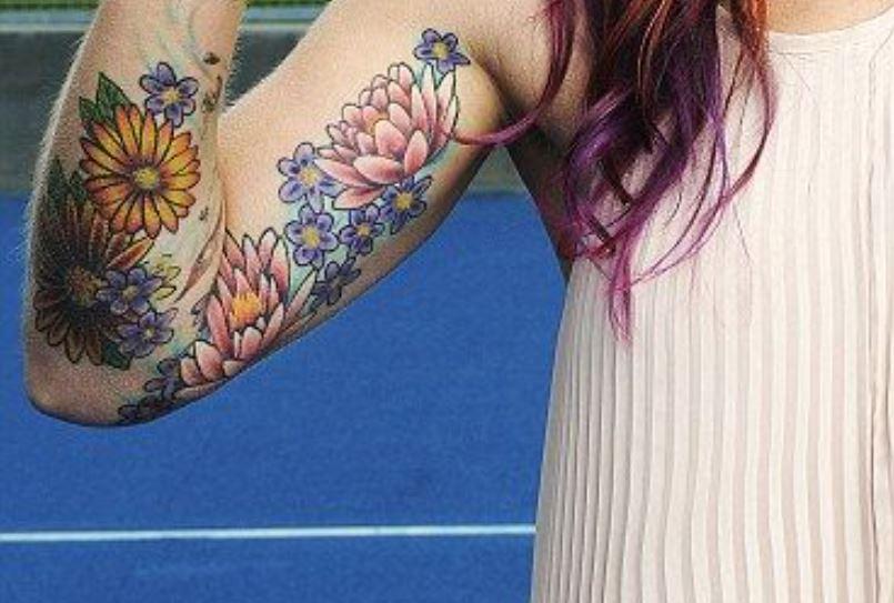 Bethanie flower tattoo