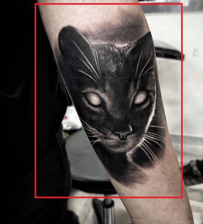 Black Cat Tattoo-Cristina Scabbia
