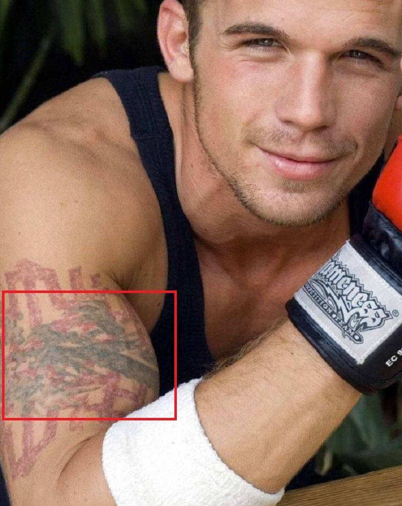 Cam Gigandet-Dragon-Tattoo