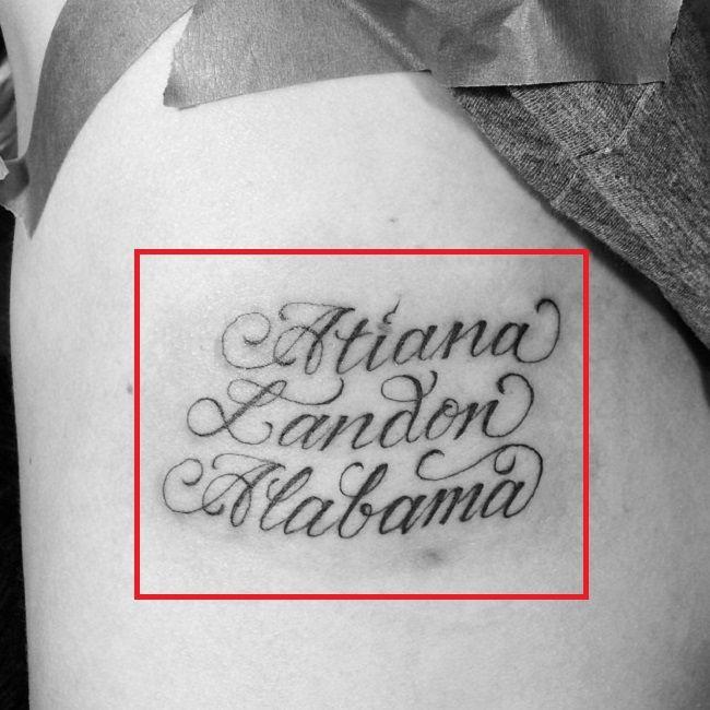 Children Name-Shanna Moakler-Tattoo