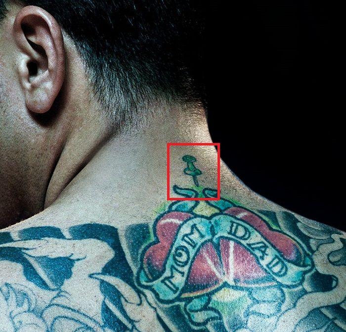 Chris Nunez-Bulletin Board tattoo