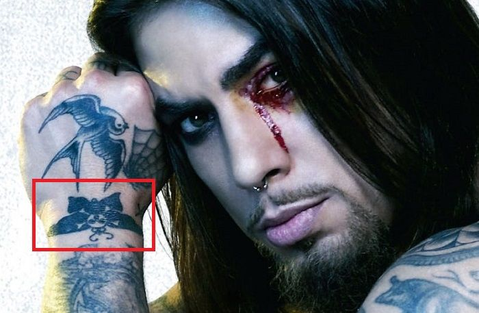 Dave NavarAro-Skull and Crossnones Moth-Tattoo