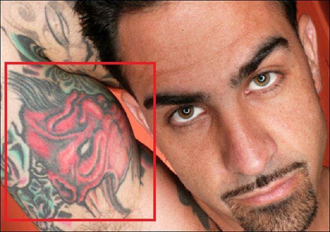 Devil Tattoo Chris Nunez