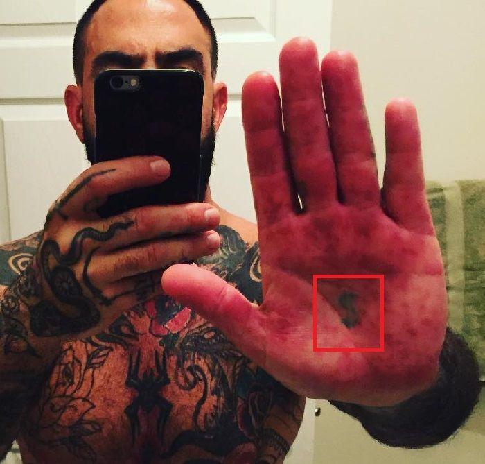 Dollar Sign-Chris Nunez-Tattoo