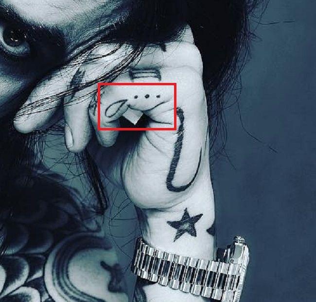Drop tattoo-dave navarro