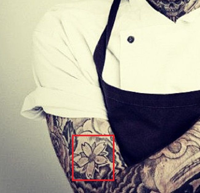 Flower-Tattoo-Robert Sandberg